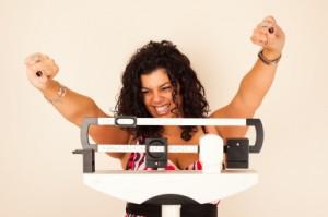 Dame-på-vægt